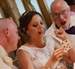 wedding magic reaciton